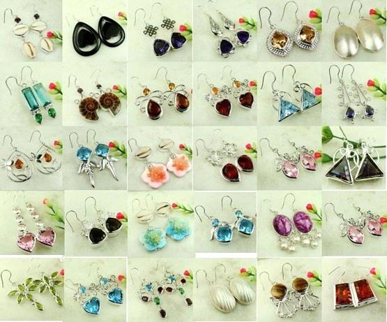 bamboo grove photo earrings wholesale